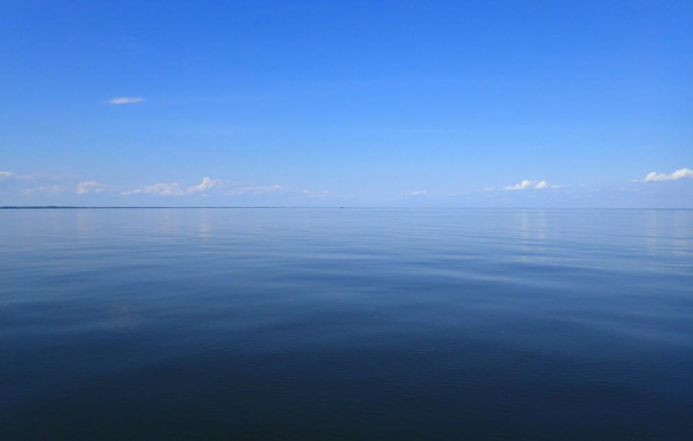 Lac-Saint-Pierre d'huile... c'est grand!