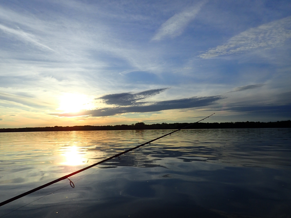 C'est de la difficulté que vient le vrai plaisir de la pêche!